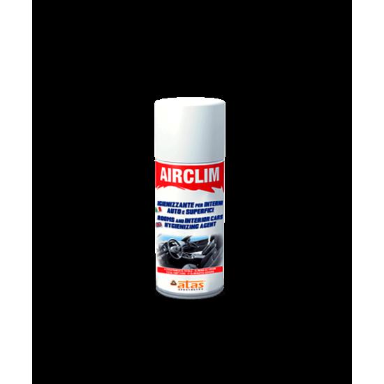 Спрей за хигиенизиране на климатичните системи на коли и повърхности Air Clim 200 ml.