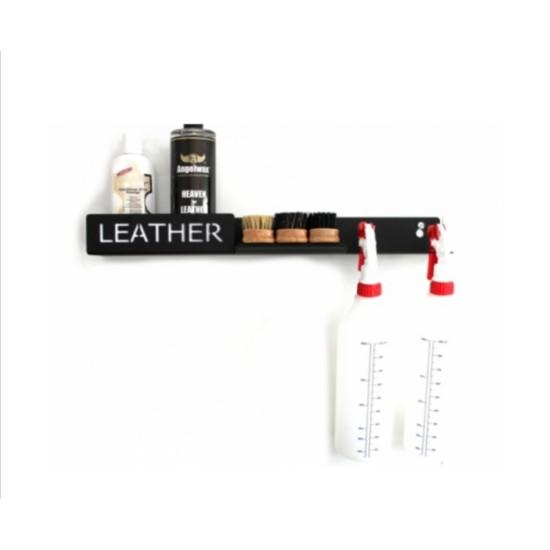 Рафт за съхранение и организиране на продукти за грижа за кожата