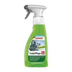 Спрей за почистване на табло Sonax мат ефект аромат зелен лимон