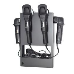 Висококачествена закачалка за 2 до 4 полиращи машини с удобно съхранение на кабели