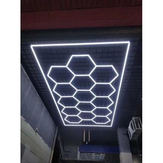 Premium LED lights Honeycomb Style 3025x4778mm