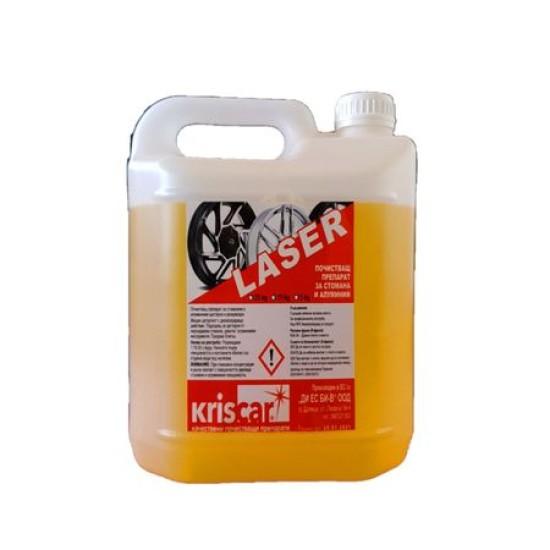 Почистващ препарат за стомана и алуминий Kriscar, 5 литра