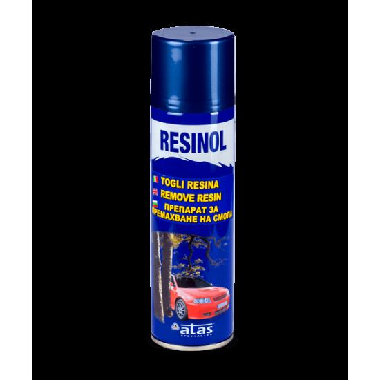 Спрей за премахване на остатъци от смола RESINOL 250 ml.