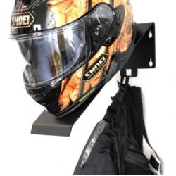 Висококачествена единична закачалка за каска и яке за мотоциклет