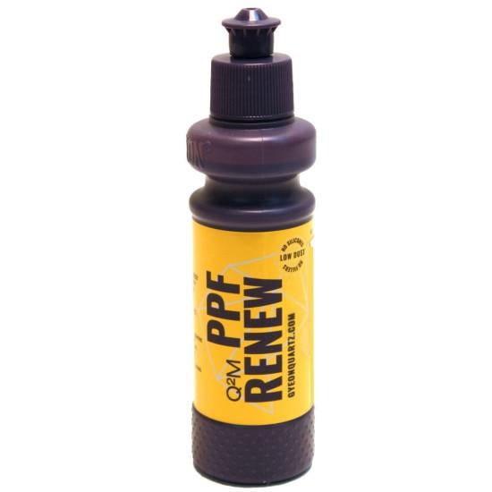 Q²M PPF Renew 120ml Gyeon Q²M PPF е паста за възстановяване на блясък, почистване и същевременно защита на защитните фолиа.